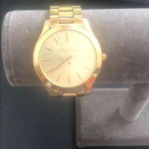 Michael Kor's Gold Watch